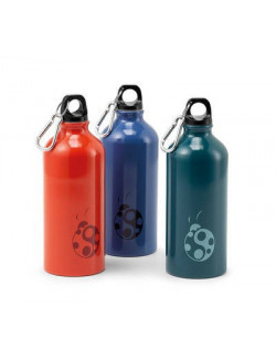 Bottiglia in alluminio 600 ml con logo Coccinella - SCOUT TECH