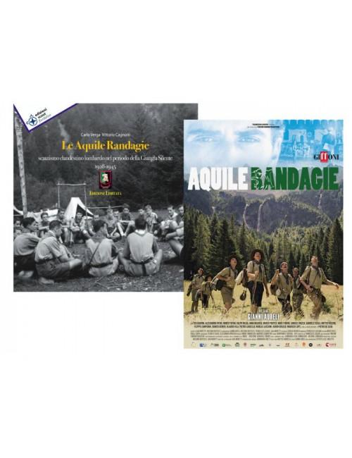 LE AQUILE RANDAGIE LIBRO + DVD