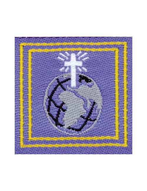 Distintivo Servizio missionario E/G Agesci