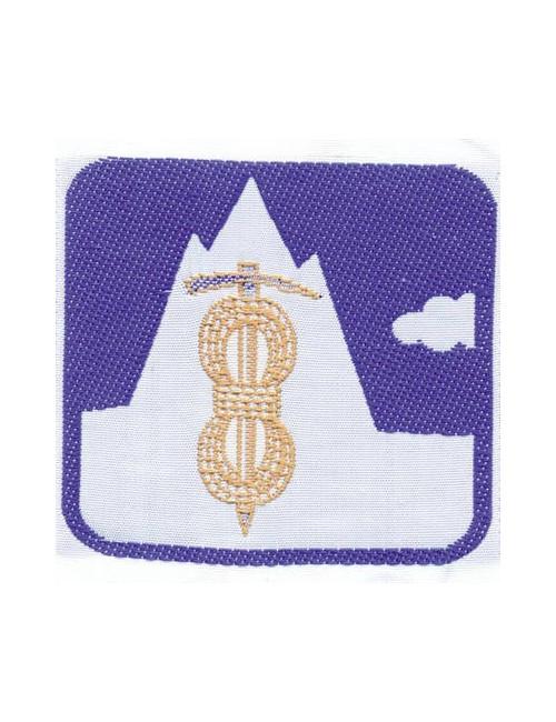 Distintivo Brevetto Guida alpina E/G Agesci