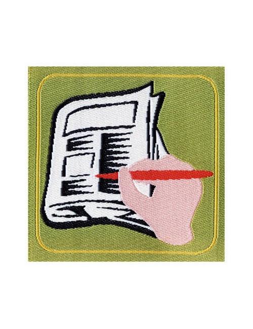 Distintivo Brevetto Animazione giornalistica E/G Agesci