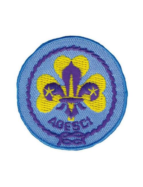 Distintivo Promessa Scout Agesci ricamata
