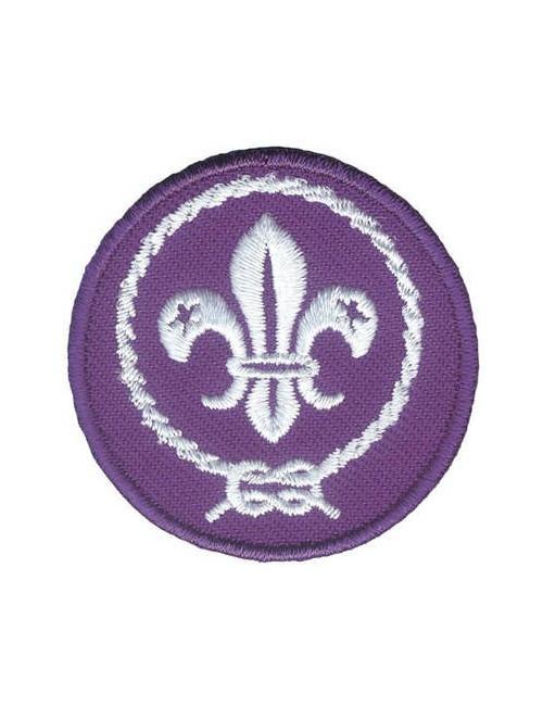 Distintivo Promessa Scout internazionale WOSM