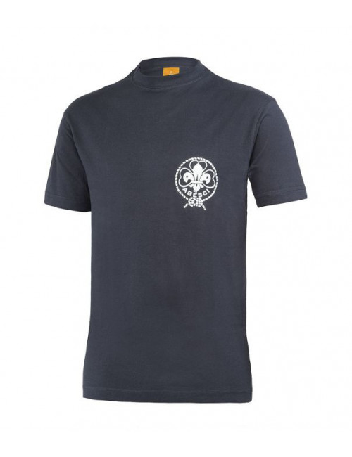 T-Shirt Agesci Blu Adulto