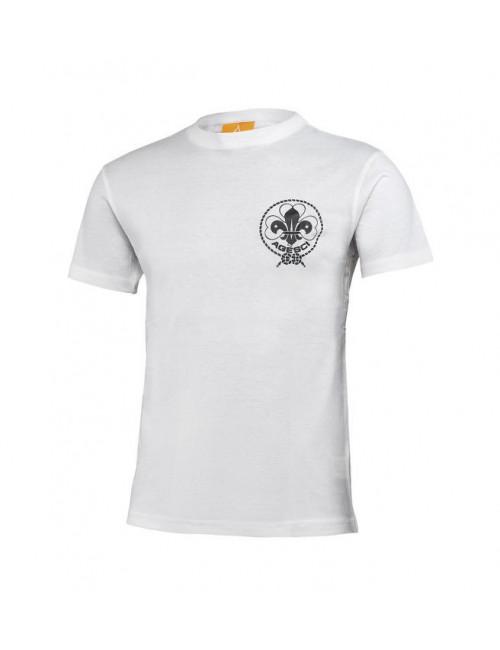 T-Shirt Agesci Bianca Ragazzo