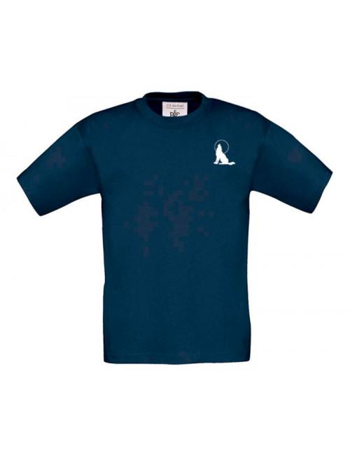 T-Shirt Lupo Blu Ragazzo