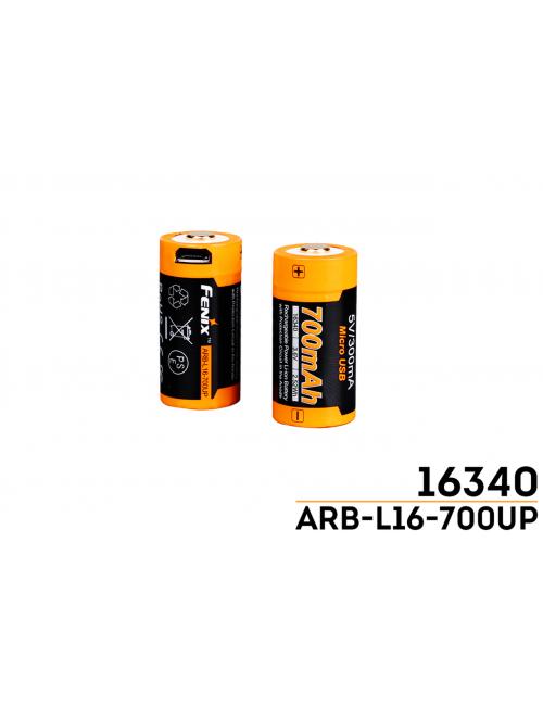 Batteria ricaricabile USB...